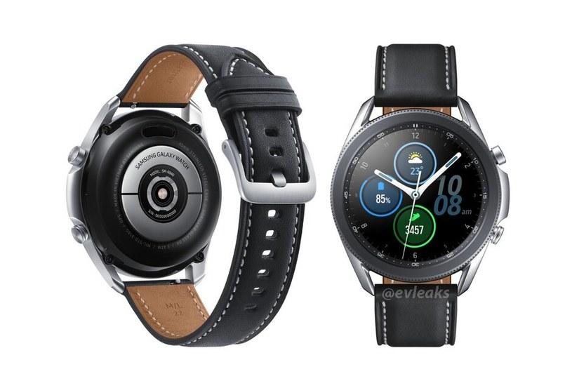 Samsung Galaxy Watch 3 / fot. Evan Blass /materiał zewnętrzny