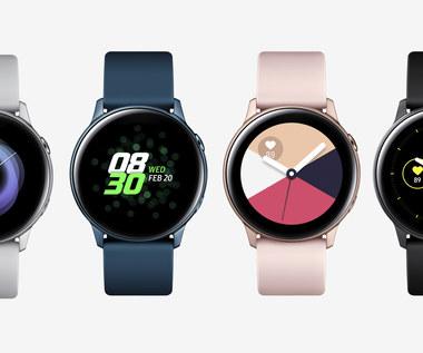 Samsung Galaxy Watch Active 2 na renderze