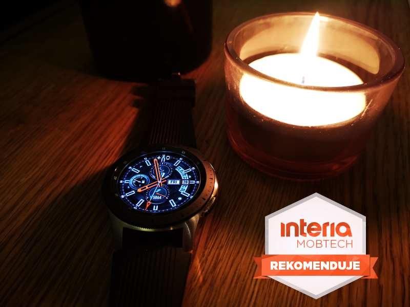 Samsung Galaxy Watch otrzymuje REKOMENDACJĘ serwisu Interia Mobtech /INTERIA.PL
