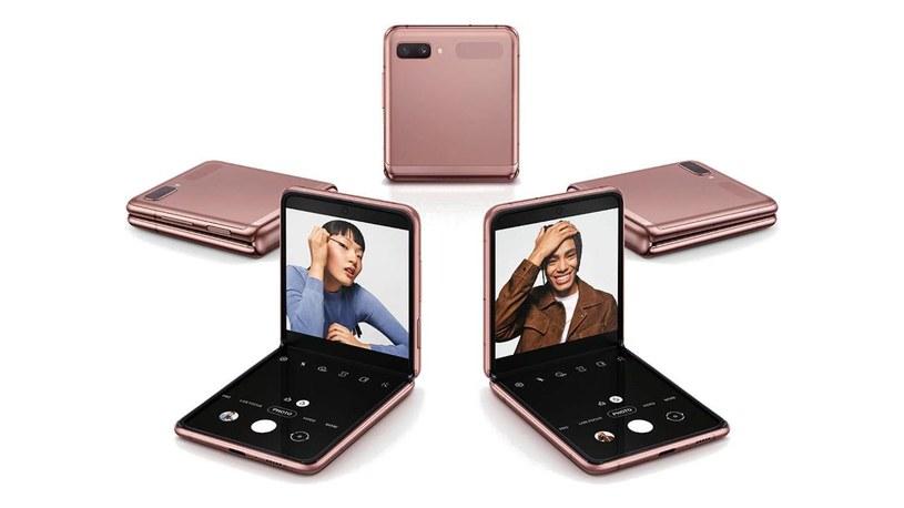 Samsung Galaxy Z Flip /materiały prasowe