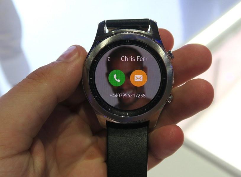 Samsung Gear S3 /INTERIA.PL