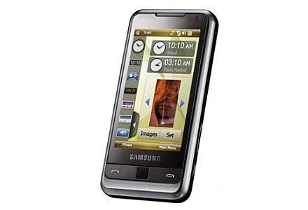 Samsung Omnia - godny przeciwnik innych smartfonów z ekranem dotykowym /materiały prasowe