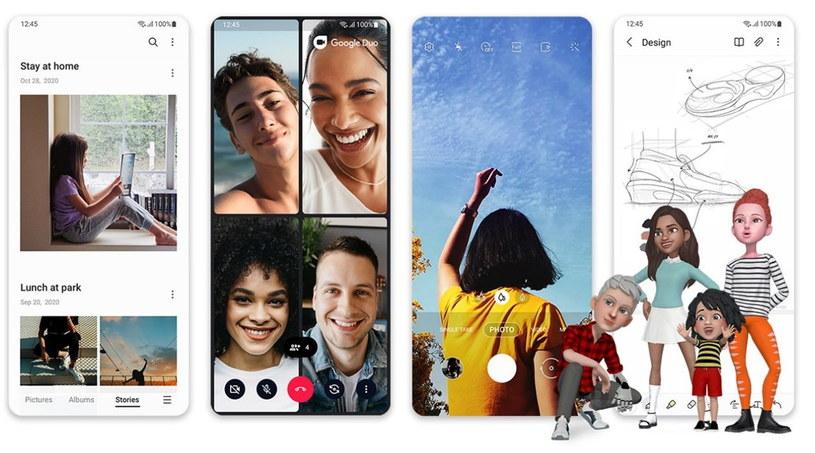 Samsung One UI 3 /materiały prasowe