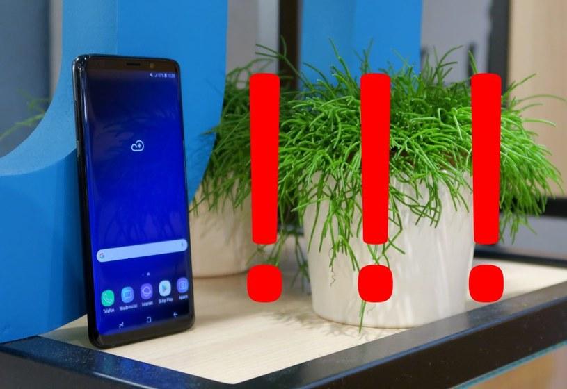 Samsung ostrzega przed oszustami /INTERIA.PL