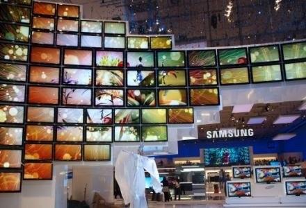 Samsung pokazał na targach IFA szereg nowych produktów. Stoisko Samsunga było jedym z największych. /INTERIA.PL