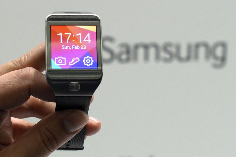 Samsung rządzi na rynku inteligentnych zegarków. /AFP