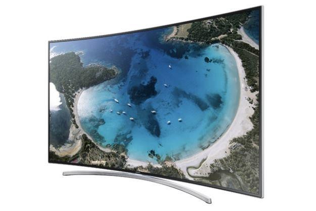 Samsung Smart TV H8000 - ten zakrzywiony telewizor korzysta z technologii LED, nie OLED. Warto o tym pamiętać /materiały prasowe