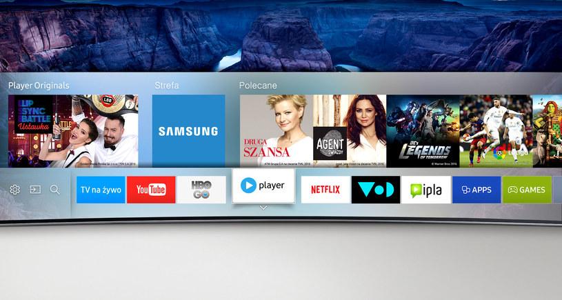 Samsung Smart TV z Facebook Video /materiały prasowe