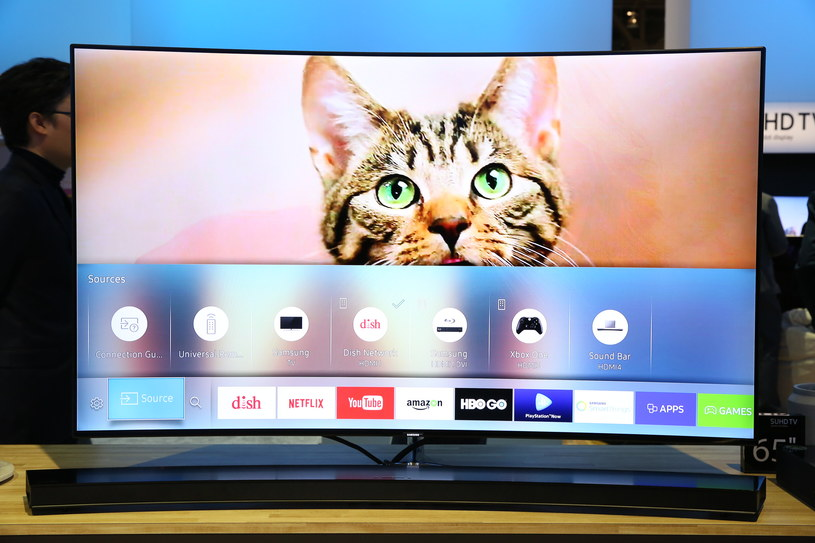 Samsung Smart TV /materiały prasowe