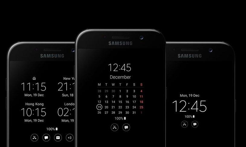 Samsung stosuje Always On Display w wielu swoich smartfonach /materiały prasowe