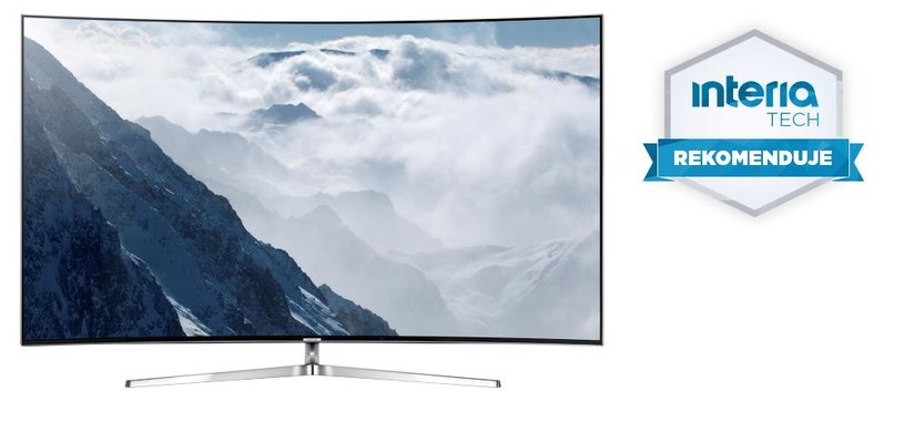 Samsung SUHD KS9000 otrzymuje REKOMENDACJĘ serwisu Nowe Technologie Interia /materiały prasowe