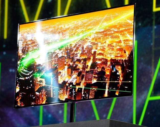 Samsung Super OLED TV /AFP