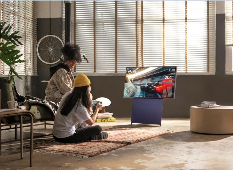 Samsung The Sero /materiały prasowe