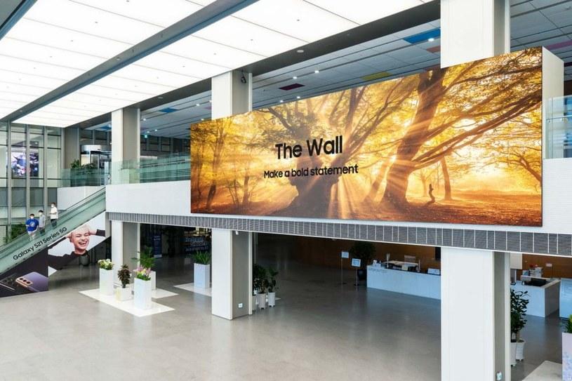 Samsung The Wall /materiały prasowe