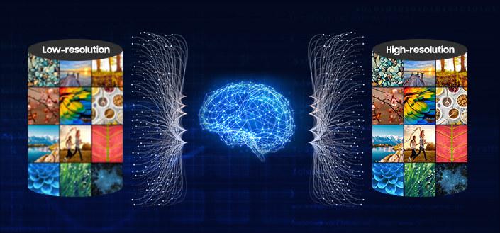 Samsung twierdzi, że sztuczna inteligencja przyczyni się do polepszenia jakości obrazu w telewizorach /materiały prasowe