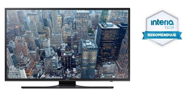 Samsung UE55JU6400 otrzymuje Rekomendację serwisu Nowe Technologie Interia /materiały prasowe