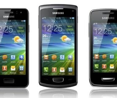 Samsung Wave 3, Wave Y oraz Wave M - smartfony z bada OS