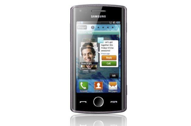 Samsung Wave - pierwszy telefon korzystający z platformy bada /materiały prasowe