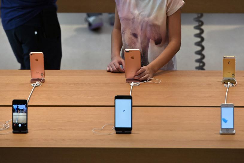 Samsung wciąż pozostaje daleko za Apple /AFP