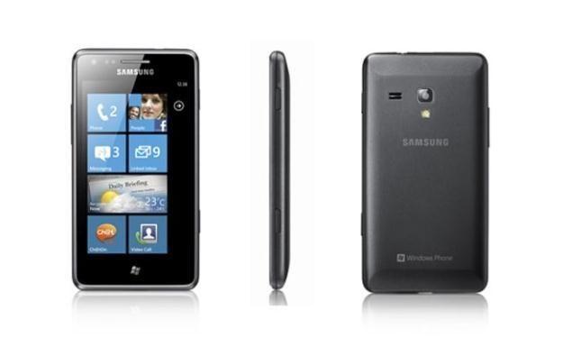 Samsung wprowadził na rynek kilka smartfonów z Windows Phone 7 /materiały prasowe