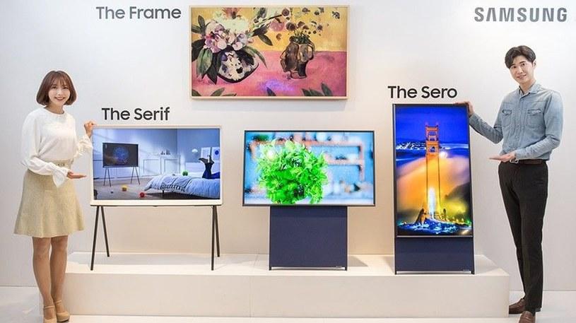 Samsung zaprezentował wertykalny telewizor dla wielkich fanów Instagrama /Geekweek