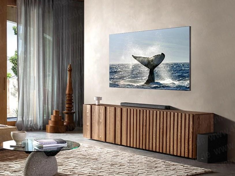 Samsung Zero Bezel 8K TV /materiał zewnętrzny