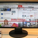 Samsung zwiększa rozdzielczość 22-calowych LCD