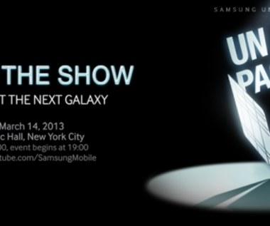 Samsunga Galaxy S IV - światowa premiera 14 marca