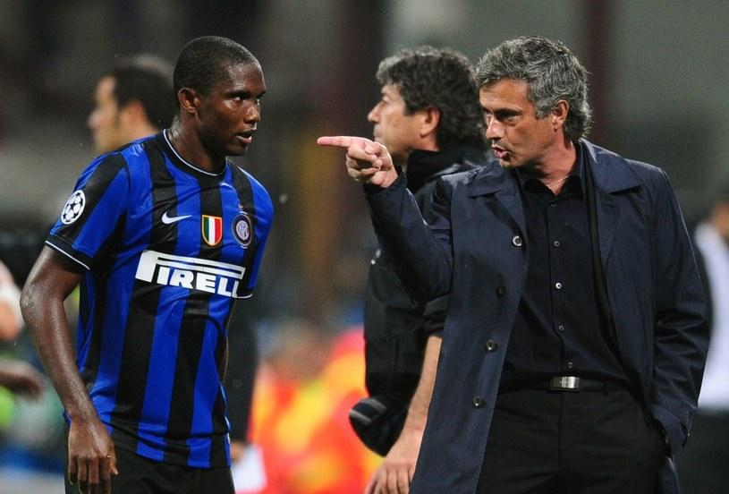 Samuel Eto'o i Jose Mourinho pracowali razem w Interze Mediolan /AFP