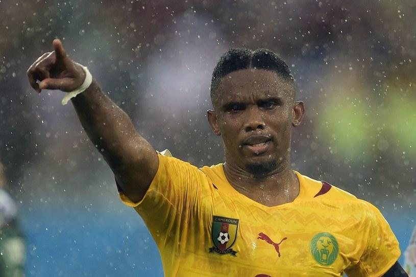 Samuel Eto'o nie zagra w meczu z Chorwacją. /AFP