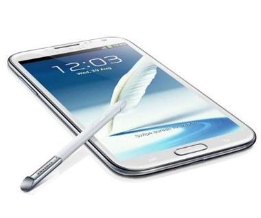 Samung Galaxy Note II - smartfonowy notatnik