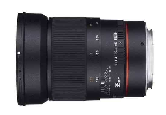 Samyang 35mm f/1.4 Canon AE /materiały prasowe