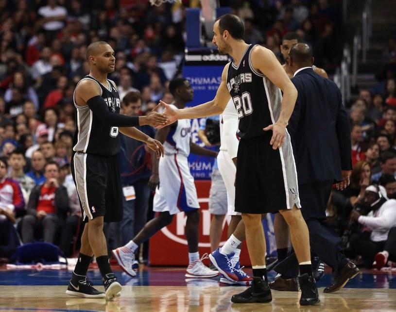 San Antonio Spurs zostali najlepszą drużyną sezonu regularnego /AFP