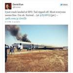 San Francisco: Boeing 777 rozbił się podczas lądowania