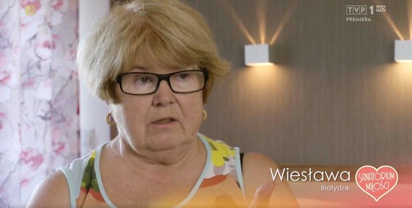 """""""Sanatorium miłości 2"""": Wiesia ma już dosyć Steni (screen z ósmego odcinka) /materiały prasowe"""