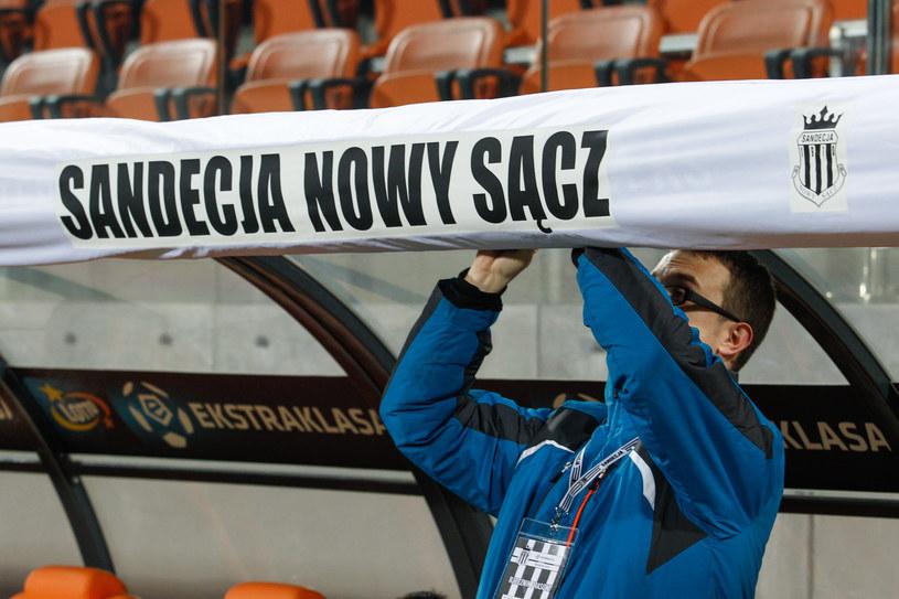 Sandecja domowe meczu musi rozgrywać na stadionie w Niecieczy /GRZEGORZ RADTKE /Newspix