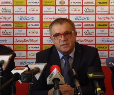 Sandecja Nowy Sącz. Prezes Danek: Jeśli awansujemy, trener Mroczkowski zostanie z nami