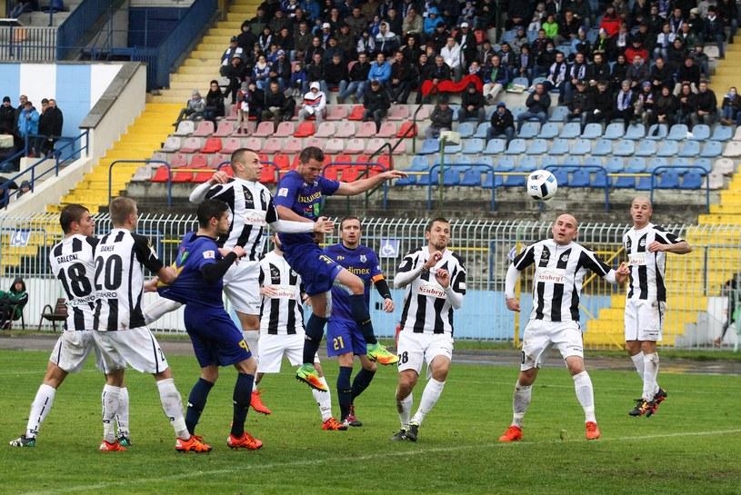 Sandecja Nowy Sącz przygotowuje się do historycznego sezonu w Ekstraklasie /Artur Szczepański /East News