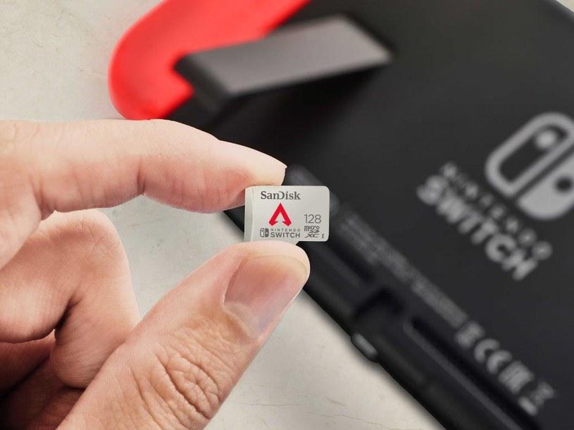 SanDisk microSDXC z motywem z gry Apex Legends /materiały prasowe