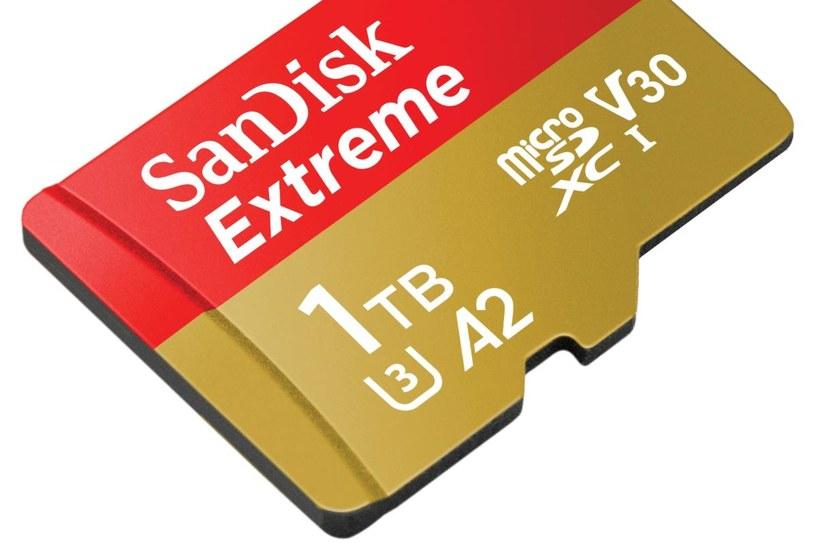 SanDisk prezentuje kartę o pojemności 1 TB /materiały prasowe