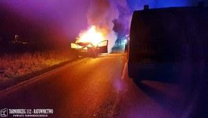 Sandomierz: Zginął kierowca, który uciekał przed policją