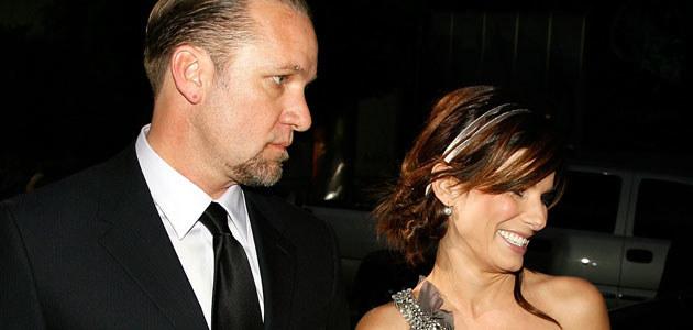 Sandra Bullock i Jesse James, fot. Kevin Winter  /Getty Images/Flash Press Media