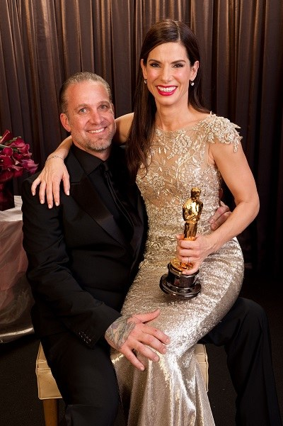 Sandra Bullock wraz z ówczesnym mężem Jessem Jamesem /Zuma Press /Agencja FORUM
