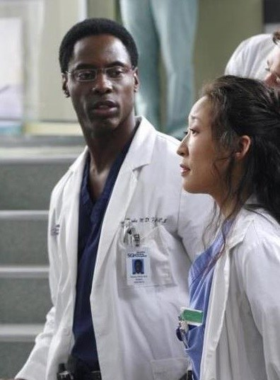 Sandra Oh (Cristina Yang) i Isaiah Washington (Preston Burke) /materiały prasowe