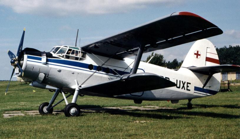 Sanitarny An-2S. Zdjęcie ze zbiorów Muzeum Ratownictwa /fot. Wacław Hołyś /materiały prasowe