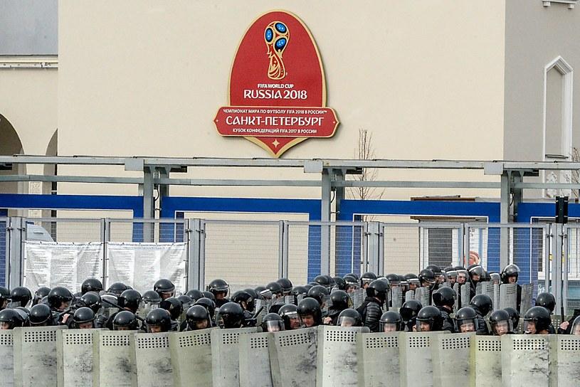 Sankt Petersburg. Ćwiczenia przed mundialem /AFP