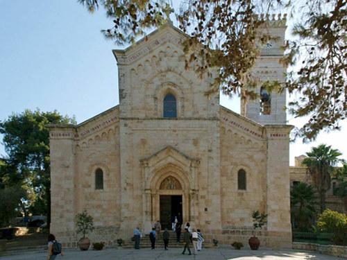 Sanktuarium Emaus w El Qubeibeh /holylandpilgrimages.org /