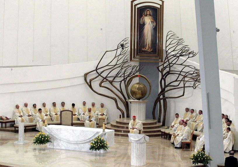 Sanktuarium Miłosierdzia Bożego w Łagiewnikach /Artur Barbarowski /Agencja SE/East News