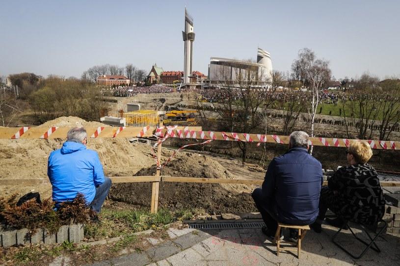 Sanktuarium w Łagiewnikach /Dominik Gajda /Reporter