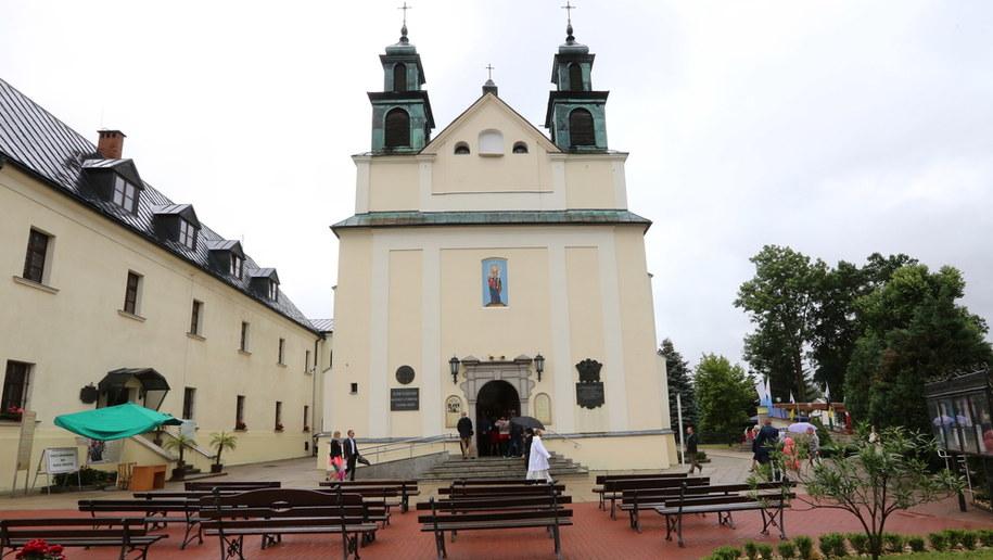 Sanktuarium w Leśniowie /Waldemar Deska /PAP